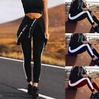 UK Womens Yoga Workout Gym Fitness Sports Leggings Pants Ladies Athletic Clothes