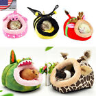 Small Dog Bed Pet Hamster Rat Guinea Soft Warm Doggy House kitten Nest Pad US