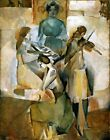The Sonata by Marcel Duchamp. Wall Art Reproduction Made in U.S.A Giclee Prints