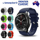 Gear S3 Frontier Classic Fashion Sports Silicone Bracelet Strap Band Samsung