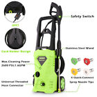 Super Power Electric Pressure Washer Hose Nozzle Cleaner Portable 3400PSI