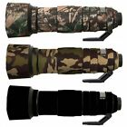 Nikon 200 500mm f5.6 ED VR Neoprene Lens Protective Cover Waterproof Camouflage