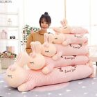 Animals Plush Pillows Rabbits Sofa Back Cushion Soft Stuffed Papa Bunny Doll New