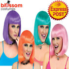 W636 Sherbert Page Straight Bob Short Sexy Costume Wig Hair With Bang Cosplay