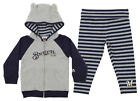 Majestic MLB Toddler Girls Milwaukee Brewers Great Catch Hoodie and Pant Set