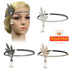 1920s Flapper Great Gatsby Headband Pearl Charleston Party Bridal Headpiece YP