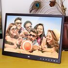 "12/14/15"" HD Digital Photo Frame Album Picture MP4 Movie Player Remote Control"