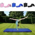2'x5'Exercise Non-Slip Tri-Fold Thick Foam Gym Mat For Gymnastics Yoga Fitness image