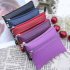 Leather Coin Purse Women Small Wallet Change Purses Zipper Money Bags Key Holder image