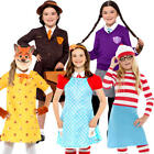 World Book Day Girls Fancy Dress Story Fairy Tale Character Childs Kids Costumes