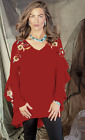 Vintage Collection Rachel Tunic~ Red