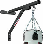 RDX Heavy Punching Bag Boxing Sets Training Gloves Bracket Ceiling Hook Chain US