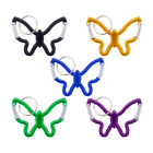 Butterfly Key Clips and Key Chain by Paracord Planet - Double Sided Carabiner