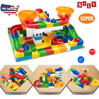 Marble Race Run Maze Ball Track Building Blocks Duplo Big Size Bricks Kids Toys