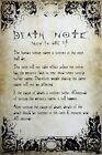 Death Note Rules Poster 61x91.5cm