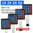4x4 Matrix 16 Key Membrane Switch Keypad Keyboard For Arduino/avr/pic/arm