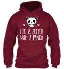 Cool Life Is Better With A Panda Animal Bear - Standard Standard College Hoodie