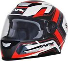AFX FX-99 Multi Color Helmet - Pearl White/Red - All Sizes