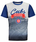 Forever Collectibles MLB Men's Chicago Cubs Outfield Photo Tee on Ebay