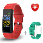 Sports Health Fitness Tracker Smart Watches Wristband Pedometer for iOS Android
