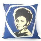 "STAR TREK ORIGINAL SERIES BONES UHURA HANDMADE CUSHION BY GEEK BOUTIQUE 16 X 16"" on eBay"