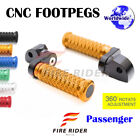FRW CNC 6C 25mm Rear Footpegs For Yamaha MT-09 Tracer 15-16 15 16