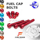 FRW 7Color Fuel Cap Bolts Set For Triumph Daytona T595 All Years 97 98 99