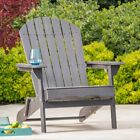 Hanlee Folding Wood Adirondack Chair
