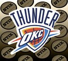Oklahoma City Thunder Logo NBA Die Cut Vinyl Sticker Car Window Bumper Decal on eBay