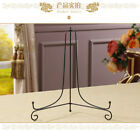 """4"""" - 12"""" Iron Easel Display Stand Plate Holder Picture Photo Frame Art Decor US"""