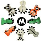 The Mibblers 100% Natural Rubber Teething Monster Baby Teether Gum Massager