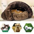 Small Pet Cat Dog Soft Warm Nest Kennel Bed Cave Sleeping Bag House Mat Pad Tent