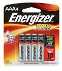 2X Energizer Max Alkaline AAA Battery 1.5 V Pack of 24, 52 Total cheap