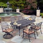 Home Styles Floral Blossom Patio Dining Set - Seats 6