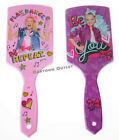 Внешний вид - JOJO SIWA GIRLS PADDLE LARGE HAIR BRUSH KIDS PINK PURPLE STOCKING STUFFER GIFT