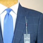 48R SAVILE ROW Blue Check SUIT SEPARATE  48 Regular Mens Suits - SS46