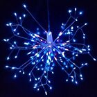 198LED Firework Starburst Fairy String Battery 8 Mode Hanging Xmas Wedding Party