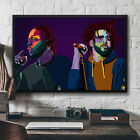 J Cole and Kendrick Lamar Rapper Musician Horizontal Poster 11-36'' No Frame