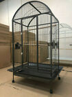 "Everila Large Bird Parrot Cage Dometop 36""x26""x65"" Macaw African Grey Cockatoo"