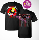 METALLICA worldwired tour 2018 – 2019 concert T-shirt Size Men.Full Size image