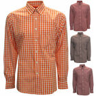 Antigua National Check Pattern Long-Sleeve Men's Oxford Style Shirt, Brand New