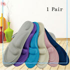 1Pair 4D Sponge Pain Relief Insoles Arch Support Cutting Shoe Pad Soft Foot Care