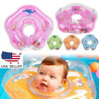 US Newborn Infant Baby Swimming Neck Float Ring Toy Inflatable Circle Bath Gift
