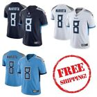Mens Tennessee Titans 8 Marcus Mariota Vapor Untouchable Jersey All Stitched
