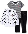 US Polo Assn. Childrens Apparel U.S. Baby Girls Sweater- Select SZ/Color.