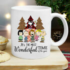 Sn0opy It's The Most Wonderful Time Christmas White Ceramic 11 oz Coffee Mug image