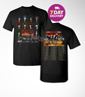KISS band T-Shirt End of the Road Farewell Tour 2019 Concert Tee.2 side.S-3XL image