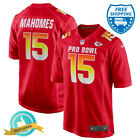 New Stitched Patrick Mahomes #15 PRO BOWL Red Jersey Kansas City Chiefs 2019 on eBay