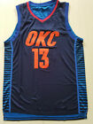 New Season Oklahoma City Thunder #13 Paul George Basketball Jersey on eBay