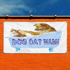 Vinyl Banner Sign Dog Wash With Image Style Q Marketing Advertising blue $769.21 USD on eBay